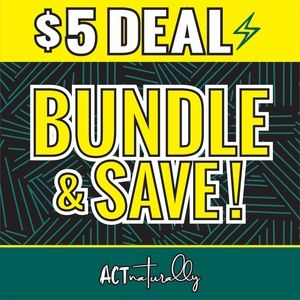 $5 DEAL⚡️ add 2 or more items to a bundle